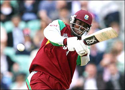 Gayle hits out for West Indies