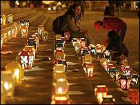 Vigilia en Bogotá para recordar a las víctimas