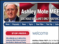 Ashley Mote's website