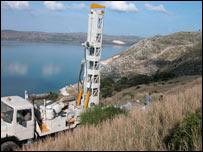Test borehole (Odysseus Unbound Project)