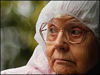 A women pensioner