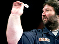 Former world darts champion Andy 'The Viking' Fordham