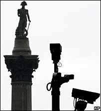 CCTV near Trafalgar Square