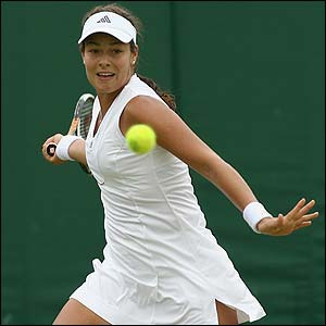Serbian sixth seed Ana Ivanovic