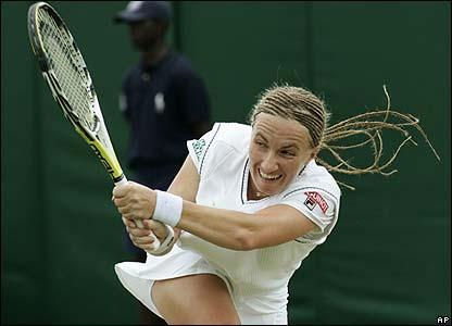 Russian fifth seed Svetlana Kuznetsova