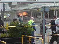 Airport crash (Picture: Thomas Conroy)