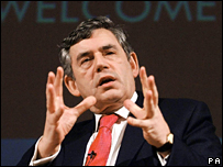 Gordon Brown. File photo
