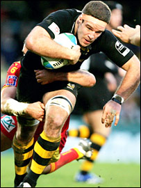 Wasps flanker Joe Worsley