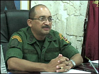 Venezuelan National Guard Gen Castor Perez-Leal