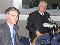 Валерий Краснов (слева) и Юрий Израэль
