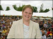 Louise Brown in 2003