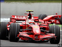 Kimi Raikkonen claims victory in France