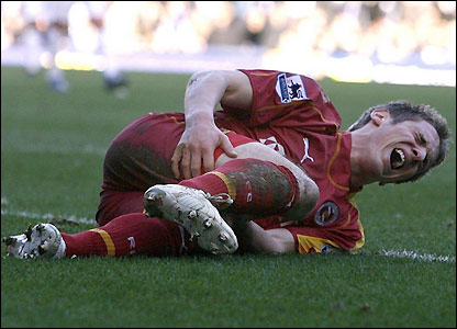 Kevin Doyle is injured