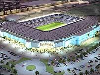 Cardiff City's proposed new stadium