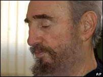 Fidel Castro. File pic