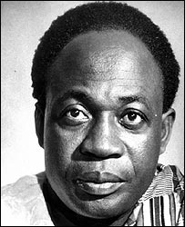 The late pan-Africanist and Ghanaian leader Dr Kwame Nkrumah