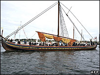 Viking ship replica, the Sea Stallion