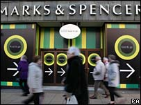 M&S store in Edinburgh