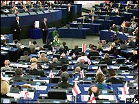 Plenary session European Parliament - file photo