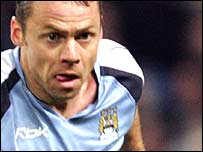 Manchester City striker Paul Dickov