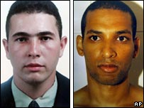 Jean Charles de Menezes (left) and Hussain Osman