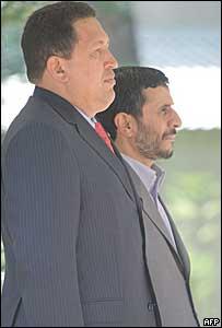 Ch�vez y Ahmedinejad