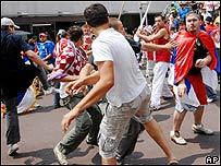 Disturbios entre serbios y croatas.