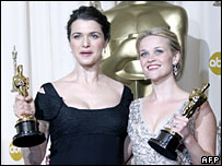 Rachel Weisz and Reese Witherspoon
