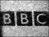 Image of BBC business card taken by single-pixel camera