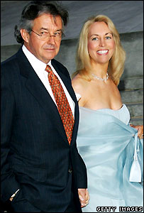 Valerie Plame and her husband Joseph Wilson