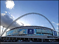 The new Wembley stadium, which is to host an NFL game in the autumn