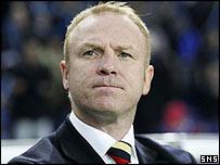 Former Rangers manager Alex McLeish