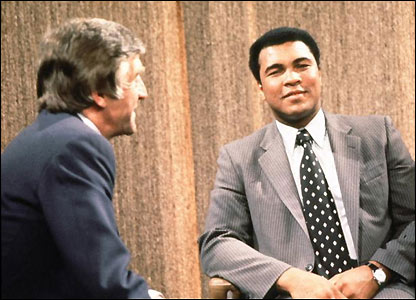 Muhammad Ali with Michael Parkinson