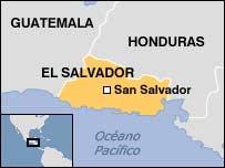 Mapa El Salvador