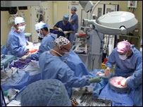 The live donor liver transplant operation