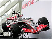 The new McLaren MP4-22