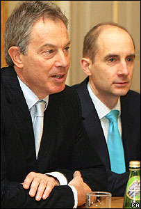 Tony Blair, head teachers' seminar