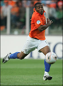 Holland Under-21 striker Maceo Rigters