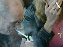 Pub smokers