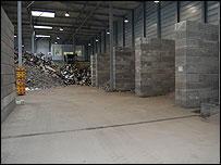 E-waste shed (Image: BBC)