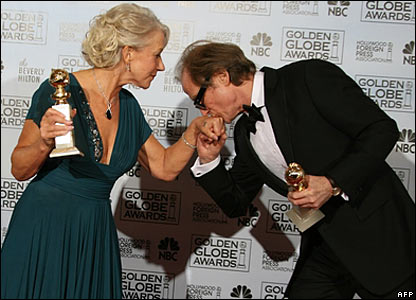 Dame Helen Mirren and Bill Nighy