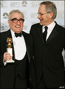 Martin Scorsese and Steven Spielberg