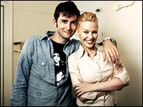 David Tennant and Kylie Minogue
