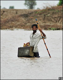 Floods in Gujarat, India