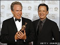 Warren Beatty and Tom Hanks
