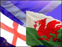 Baeneri Lloegr, Yr Alban a Chymru
