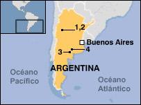 Mapa del Cono Sur