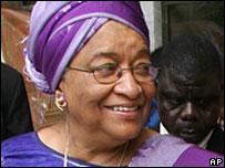 President Ellen Johnson-Sirleaf