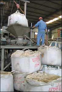 Huayou factory processing African cobalt and copper