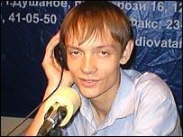 Радиоведущий Антон Родин
